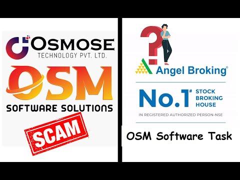Angel Broking Task OSM Software Scam